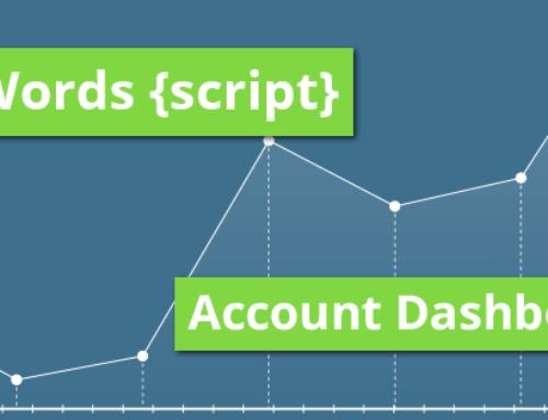 Neues MCC AdWords Dashboard Script