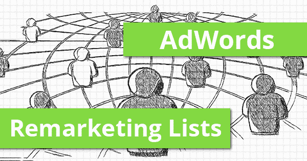 Remarketing Listen in der AdWords Suche