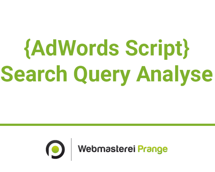 Search Query Script