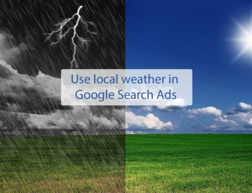 Use weather data for Ad Customizer in Google Ads